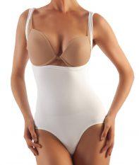 GABRIALLA Style BSM-725 Seamless Milk Fiber Body Shaping Open Bust Bodysuit