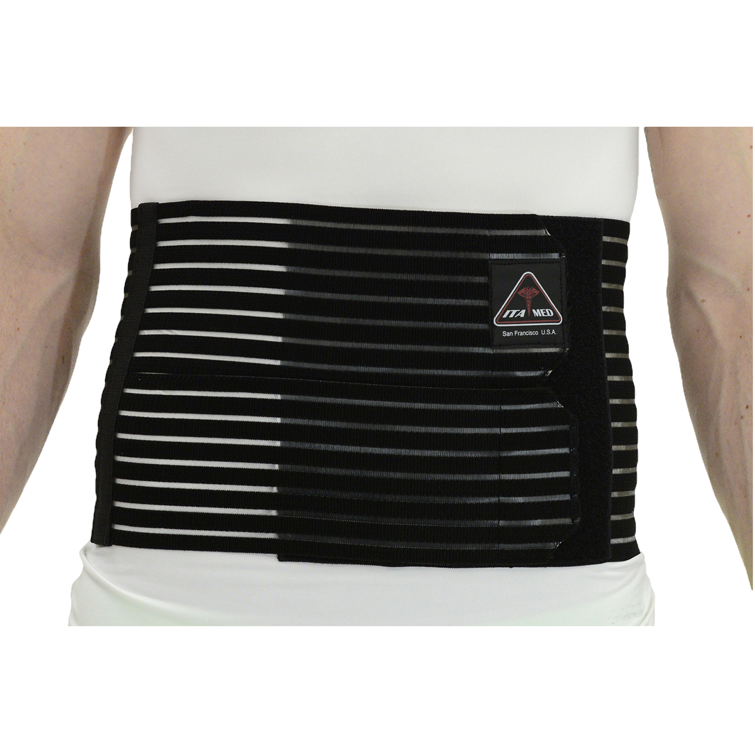 "ITA-MED Style AB-208(M) Men's Breathable Abdominal Binder (8"" wide)"