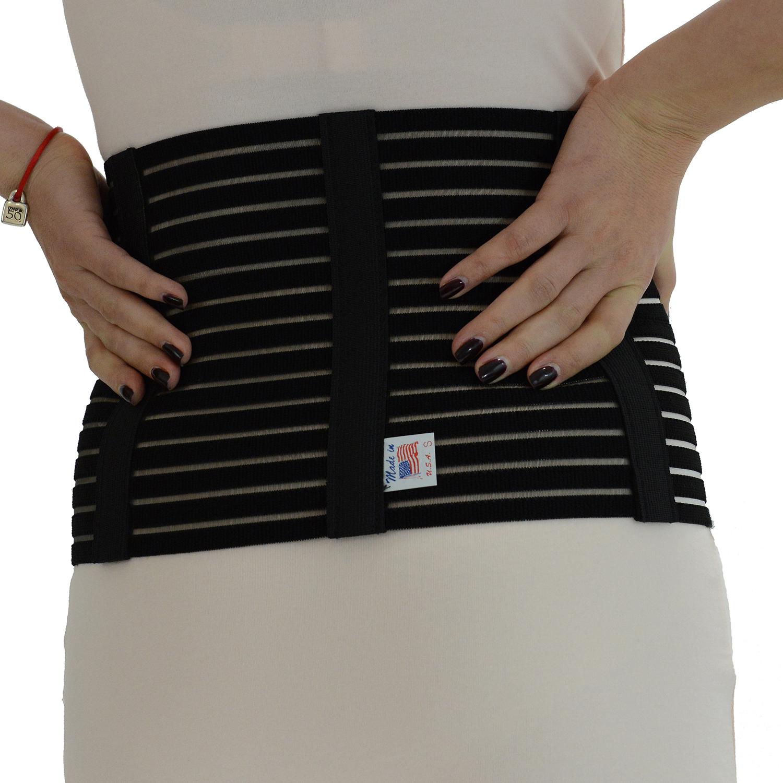 "GABRIALLA Style AB-208(W) Women's Breathable Abdominal Binder (8"" wide)"