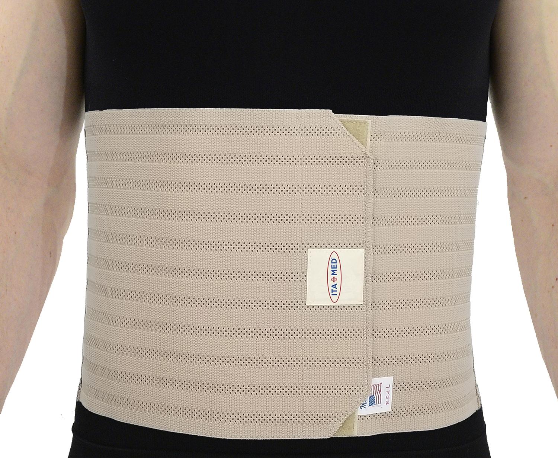 "ITA-MED Style AB-309(M) Men's Breathable Elastic Abdominal Binder (9"" wide)"