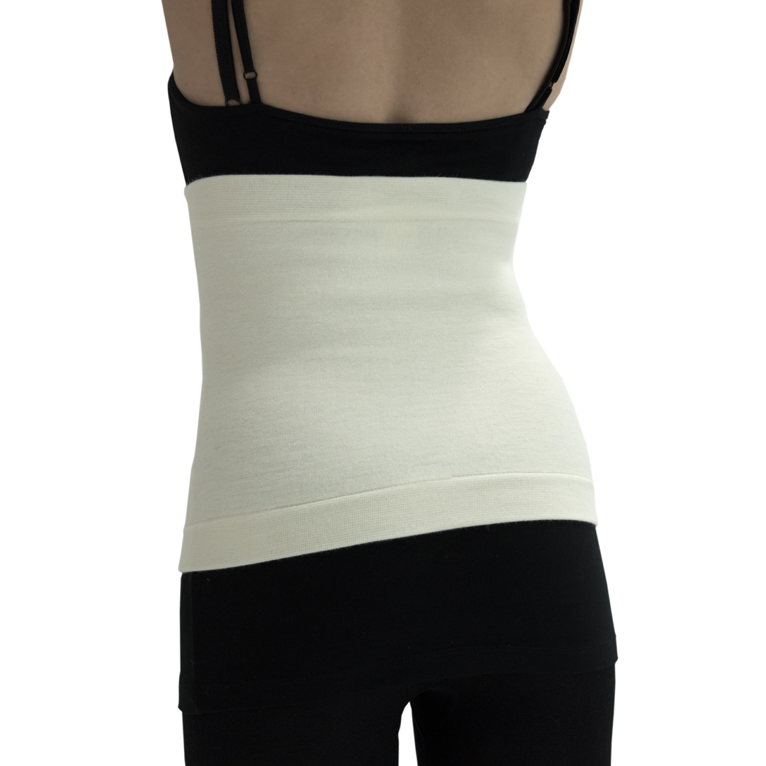 ITA-MED Style AGS-501 Abdominal Warming Support Binder (30% Angora)