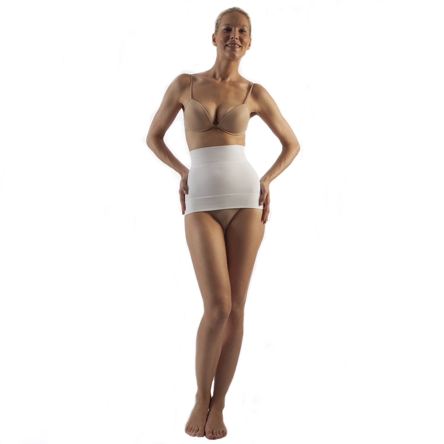 GABRIALLA Style BSM-705 Seamless Milk Fiber Body Shaping Abdominal Support Binder