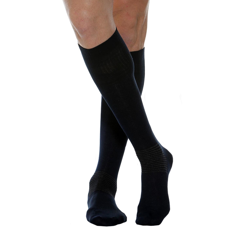 MAXAR Style CDS-615 Comfort & Diabetes Unisex Cotton/Silver Socks