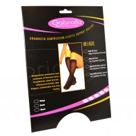 GABRIALLA Style H-304 Microfiber Unisex Knee Highs Closed Toe