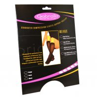 GABRIALLA Style H-304(O) Microfiber Unisex Knee Highs Open Toe