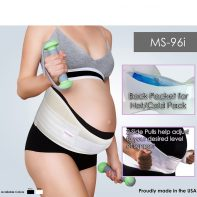 GABRIALLA Style MS-96i Soft Foam & Breathable Elastic Maternity Support Belt
