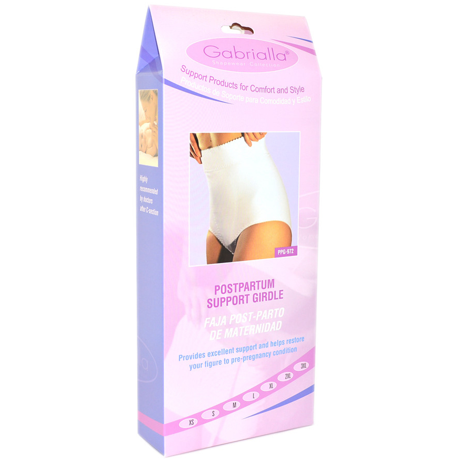 GABRIALLA Style PPG-972 Postpartum Support Girdle