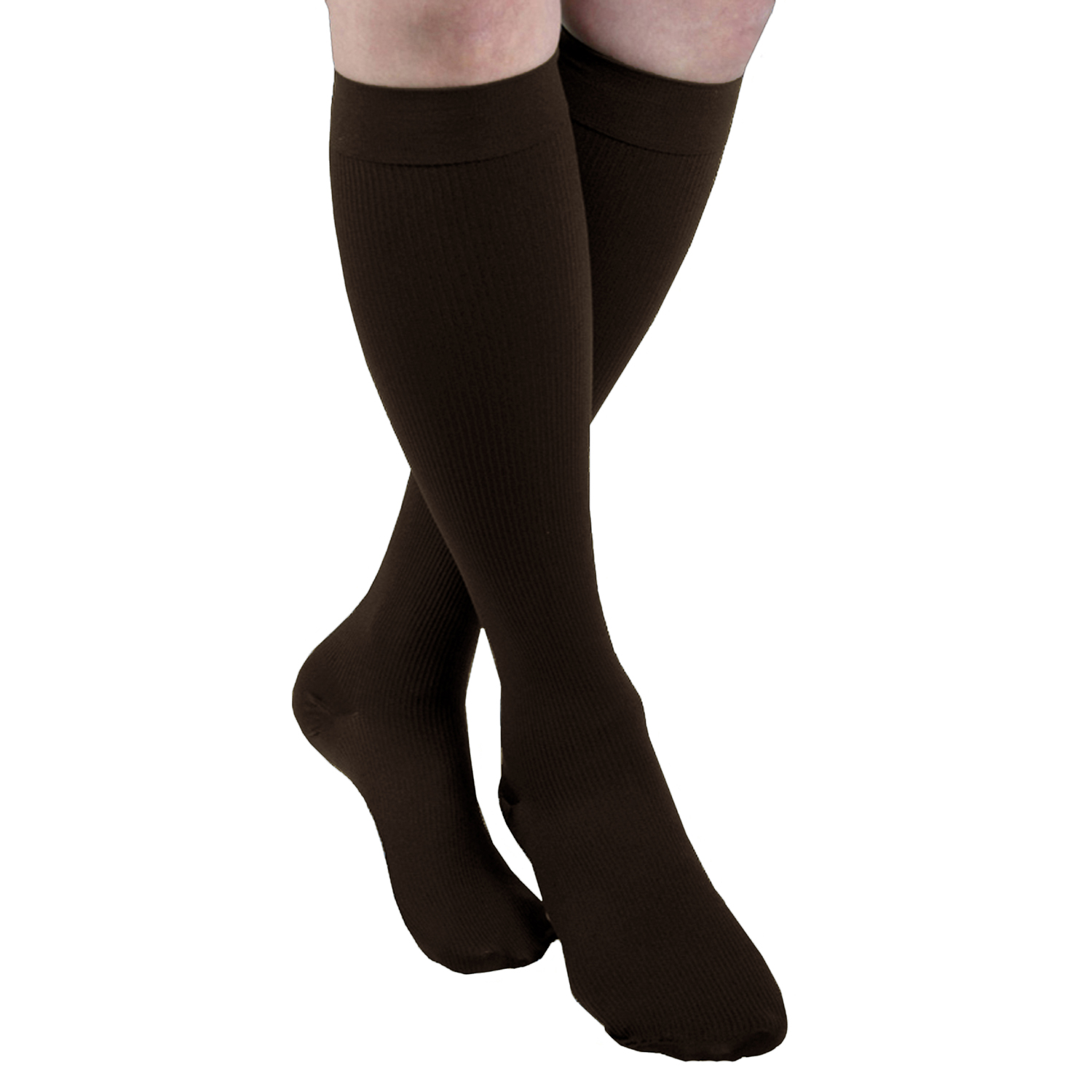 MAXAR Style H-1110 Men's Cotton Trouser Support Socks w/Band