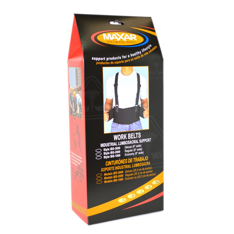 MAXAR Style IBS-2000 Work Belt (Standard)