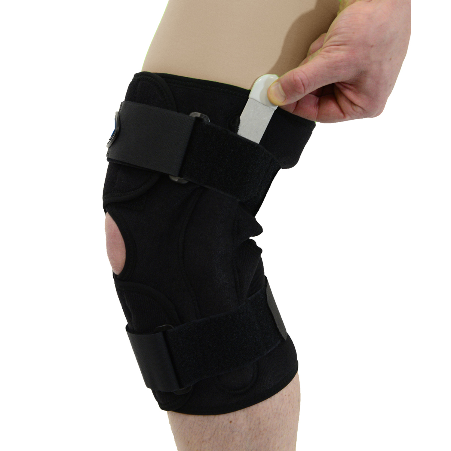 MAXAR Style KNS-140 Airprene Wrap – Around Knee Brace (Double – Pivot Hinge)