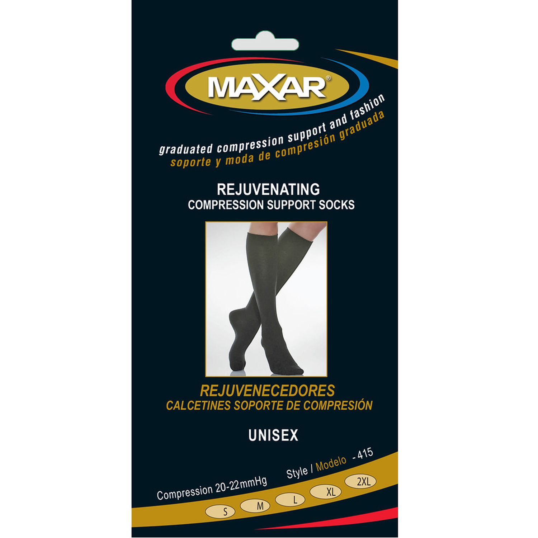 MAXAR Style MUS-415 Rejuvenating Unisex Compression Support Socks