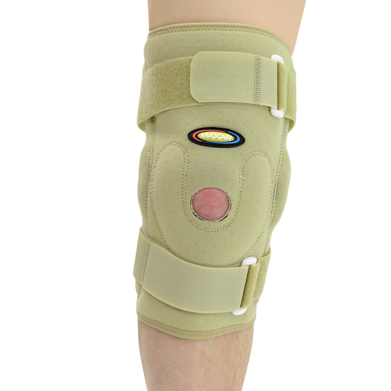 MAXAR Style NKN-139 Airprene Pull – On Knee Brace (Double – Pivot Hinge)