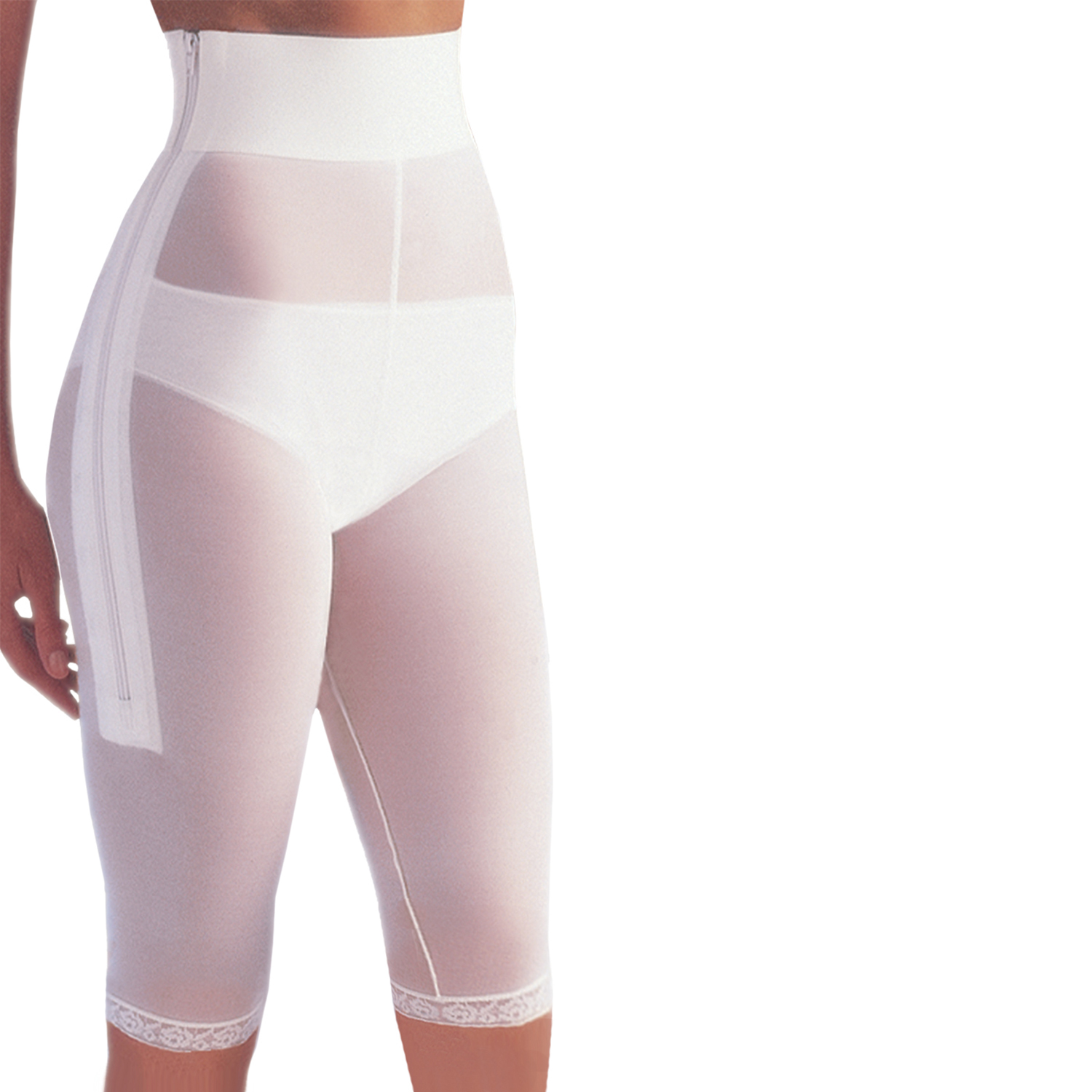 GABRIALLA Style PLG-810 Post-Liposuction and Surgical Support (Above Knee)