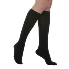 MAXAR Style SUS-315 Silver/Cotton Unisex Compression Support Socks