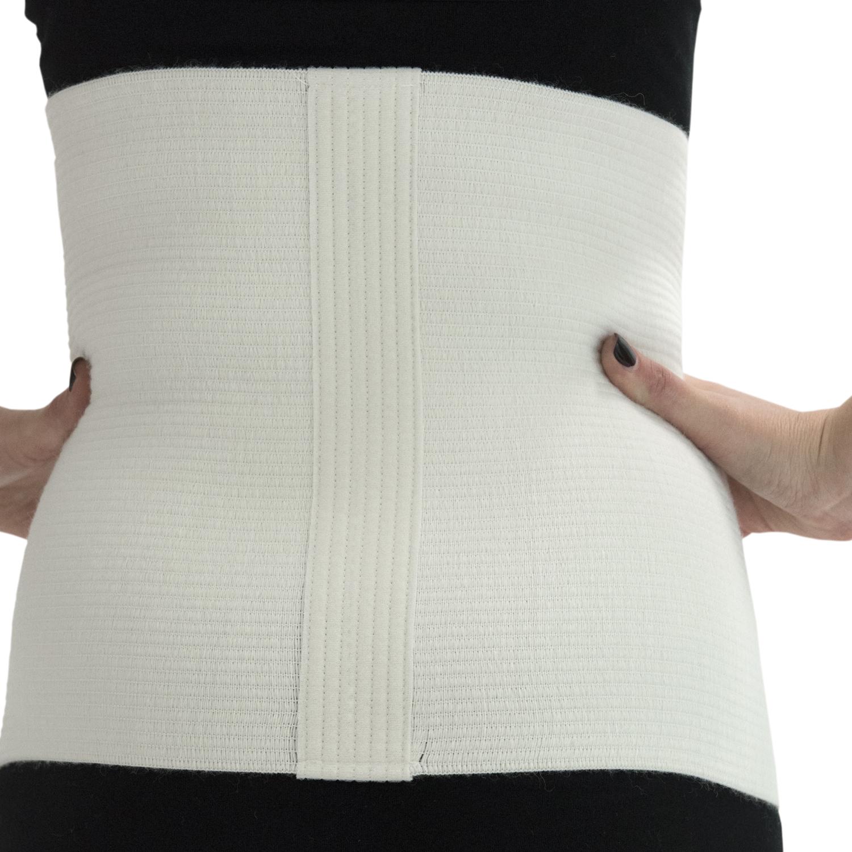 ITA-MED Style TGR-201 Abdominal Warming Support Binder (80% Wool)