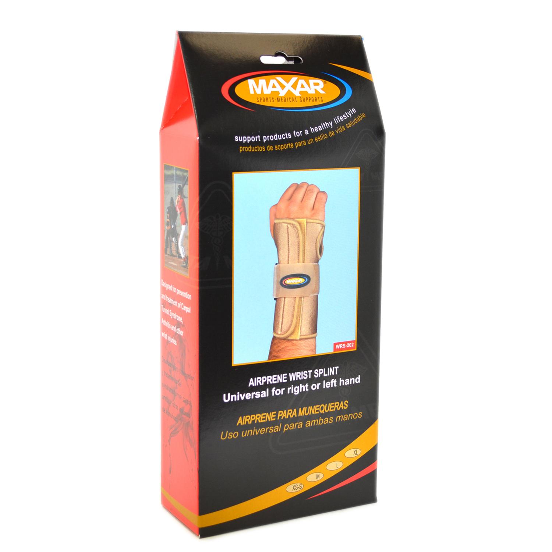 MAXAR Style WRS-202 Airprene Wrist Splint